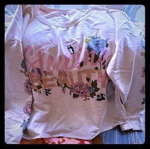 NWT Disney sleeping beauty sweatshirt